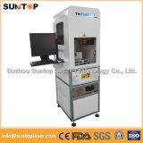 20W máquina de marcação a laser Automática/máquina de gravação a laser de Metal