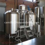 Matériel micro de brassage de bière de brasserie de tonne de Lauter de cuve-matière