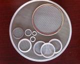 disque de filtre en métal de l'acier inoxydable 304 316L