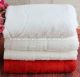 卸売80X160cm 600g白く明白なテリータオルの一定の高級ホテルの100%年の綿の浴室タオル