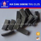 Het Segment van het Beetje van de Kern van de Diamant van Huazuan voor Gewapend beton