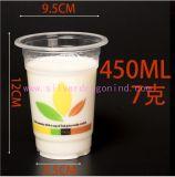 Kundenspezifisches Wegwerf-pp.-trinkende Cup-Wasser-Plastikcup, 400ml