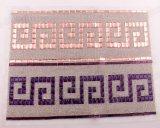 모조 다이아몬드 장에 형식 유리제 구슬로 만드는 메시 다채로운 접착제