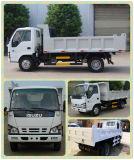 Isuzu 4*2 petits pour la vente de camion à benne