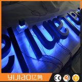Bom serviço de pós-venda Alfabeto de aço inoxidável com iluminação traseira