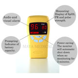 Mijn-C017 de niet-invasieve Impuls Oximeter van het Handvat met de Navulbare Macht van de Batterij