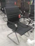 Het terug Vaste Bureau van de Computer van het Leer Directeur Stackable Chair
