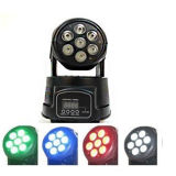 Goedkope 7PCS 10W RGBW 4 in 1 Mini LED Moving Head Light