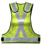機密保持の高い可視性の黄色の反射安全ベスト