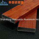 ベトナムの市場のWindowsおよびドアのための木の穀物の絵画アルミニウムプロフィール
