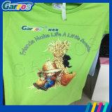 Katoenen van de Inkt van het Pigment van de Verrichting van Garros de Gemakkelijke Flatbed Printer DTG van de T-shirt