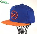 3D刺繍の急な回復の帽子の製造者が付いている方法5パネルの帽子