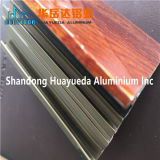 Os perfis de alumínio de extrusão de alumínio de electroforese para o Vidro da porta de vidro