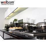 Welbom TIRA DE LEDS alto brillo el diseño del armario de cocina