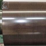 Bobina d'acciaio verniciata colore del grano piano Dx51d PPGI con la pellicola del PE