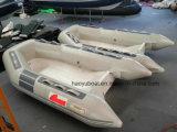8.3FT Rippen-Boot mit Cer-Fiberglas-Rumpf-Außenbordmotor-Fischerboot-aufblasbarem Boot