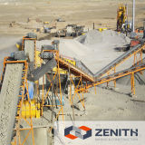 Linha de trituração de alto desempenho, máquinas de pedreira com grande capacidade