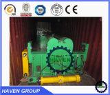 Máquina de rolamento hidráulica dos rolos W11S-25X2000 três para a dobra da placa