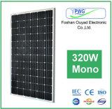 для панели солнечных батарей 320W солнечной системы или домашней системы Mono сразу от изготовления