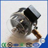 50мм очередной Грифельный черный корпус электрический контакт манометр