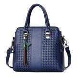 최신 유일한 디자인 형식 PU 가죽 수를 놓는 여자 끈달린 가방 핸드백