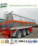 三車軸20立方メートル腐食性の液体タンクセミトレーラー