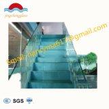 Acciaio inossidabile personalizzato di fabbricazione della fabbrica/scala di vetro di legno del corrimano