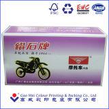 Kundenspezifische Papierverpackenkästen für Motorrad-inneren Reifen