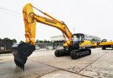 중국 최고 Sinomach 1.5 M3 건축기계 기술설계 장비 판매를 위한 34 톤 크롤러 굴착기 유압 굴착기