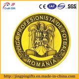 Pin de metal suave de encargo del recuerdo de la impresión de la insignia del esmalte Badg