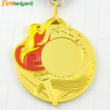 Le dessin du client Gold Medal avec ruban