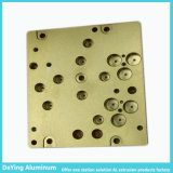 Perfil de aluminio industrial amarillo de anodización excelente profesional del CNC Procesing del fabricante