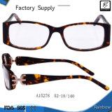 Уникальный современный Tortoiseshell ацетат оптические очки (A15278)