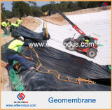 Water Pond LiningのためのLLDPE LDPE PVCエヴァHDPE Geomembrane