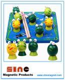Het houten Magnetische OnderwijsStuk speelgoed van het Stuk speelgoed van de Kikker van de Visserij