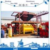 Serviço ultramarino máquina de mistura concreta gêmea fornecida do eixo Js2000