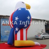 Personagem de banda desenhada inflável de venda quente da águia dos produtos