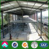 Zwei Geschichte-Stahlkonstruktion-Bürohaus in Solomon