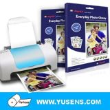 120GSM A4 100sheets doble cara de papel fotográfico brillante