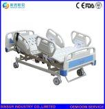 Bâti d'hôpital réglable de vente chaud de Siderail d'ABS de Cinq-Fonction électrique patiente