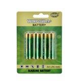 Pilhas alcalinas AA 1,5V Bateria para microfone sem fio
