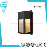 Lumière de mur du chevet DEL de salle de séjour de lampe de bougeoirs de mur en verre