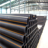 ISO/ DIN PE100/80 qualificada do tubo rígido de HDPE para irrigação agrícola