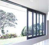 Как2047 матовый черный алюминий опускное стекло окна с Австралией стандарт