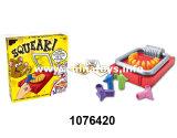 Juguete nuevo Squeak Agarra tu queso pero ten cuidado de la ratonera juego juguetes (1076420)
