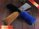 カスタマイズされたペーパービロードのオーガンザのドローストリングのパッキング袋
