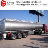 Dimensiones del acoplado del depósito de gasolina de los árboles de la aleación de aluminio tri para el transporte de la gasolina