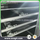 precio de fábrica de briquetas de carbón de la cinta transportadora de malla de pelo