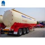 3 eixo 60 toneladas de farinha de carregamento a granel a granel de descarga do reboque Cinzas