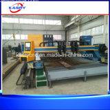 Macchina resistente di taglio alla fiamma del plasma di CNC di basso costo per la linea di produzione saldata spirale del tubo d'acciaio